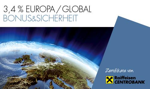 3,4 % Europa/Global Bonus&Sicherheit