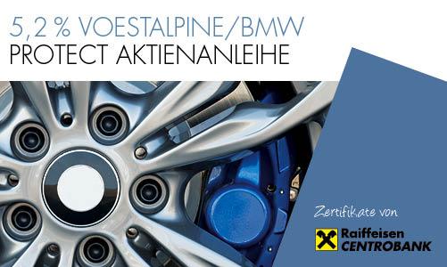 5,2 % voestalpine/BMW Protect Aktienanleihe