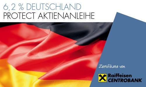 6,2 % Deutschland Protect Aktienanleihe