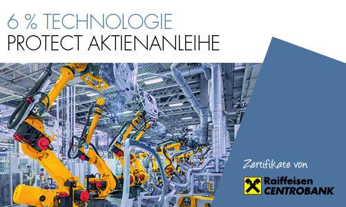 6% Technologie Protect Aktienanleihe