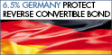 6.5% Germany Protect Reverse Convertible Bond – subscribe until March 29, 2018